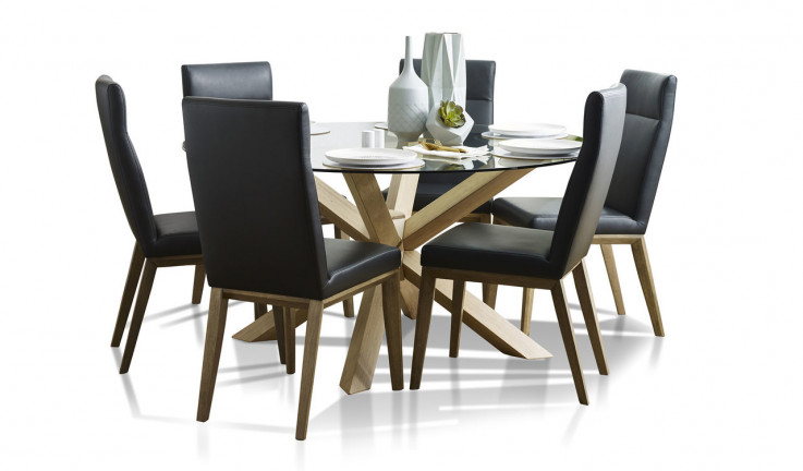 Miles dining with Penfold chairs
