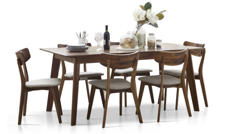 Trentham dining suite with Trentham chai