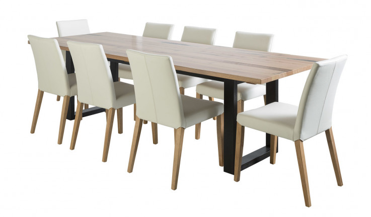 Olinda dining suite with Metz chairs