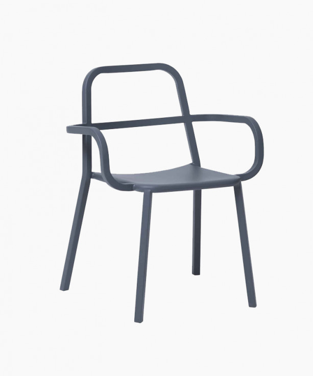 Cosimo Armchair with Hollow Back by Sean