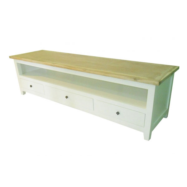 LONDON TV STAND 3 DRAWER