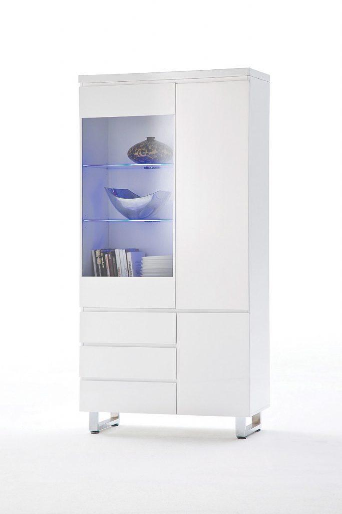 Sydney 3 Door 3 Drawer Display Cabinet