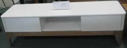 COZY 1500 TV UNIT-ASH/WHITE