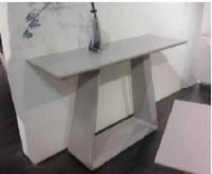TOKAY 1200*400 CONSOLE TABLE-MATT KHAKI