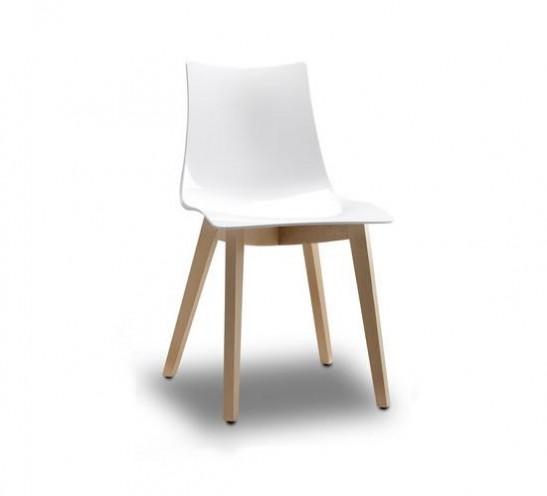 Zebra Timber Leg Chair
