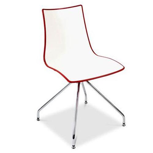 Zebra Bi-colour Trestle Chair
