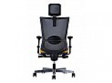 FORTE HIGH BACK EXEC CHAIR BLACK