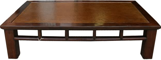 Brown Day Bed/Coffee Table
