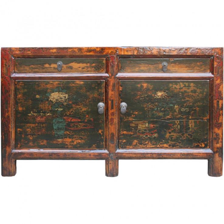 Original Distressed Painted Sideboard