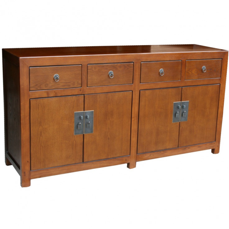 Brown Chinese Sideboard Buffet
