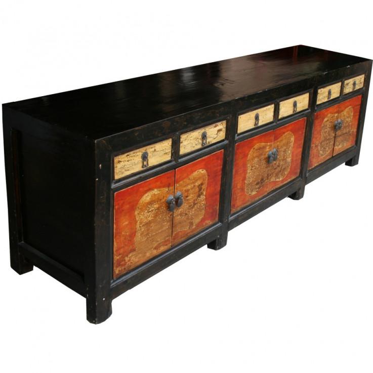 Original Large Mongolian Sideboard