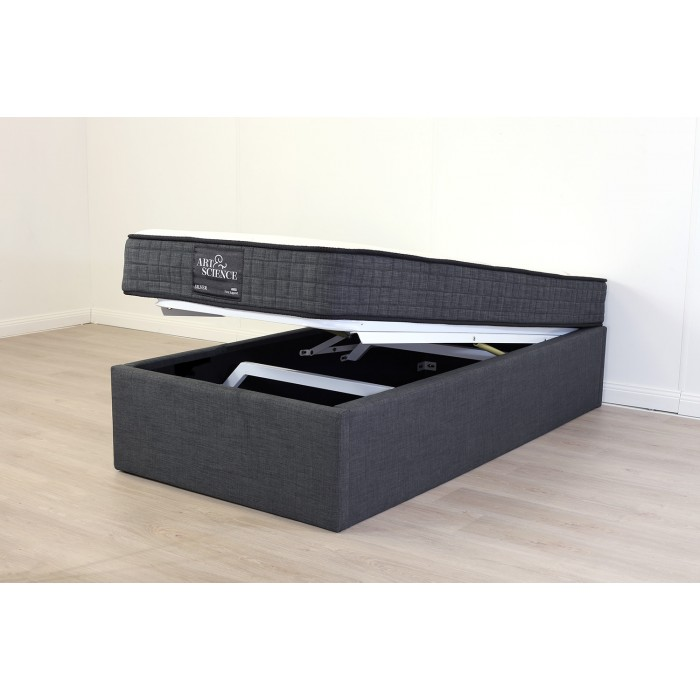 SPACE LIFT BED BASE KING SINGLE CHARCOAL