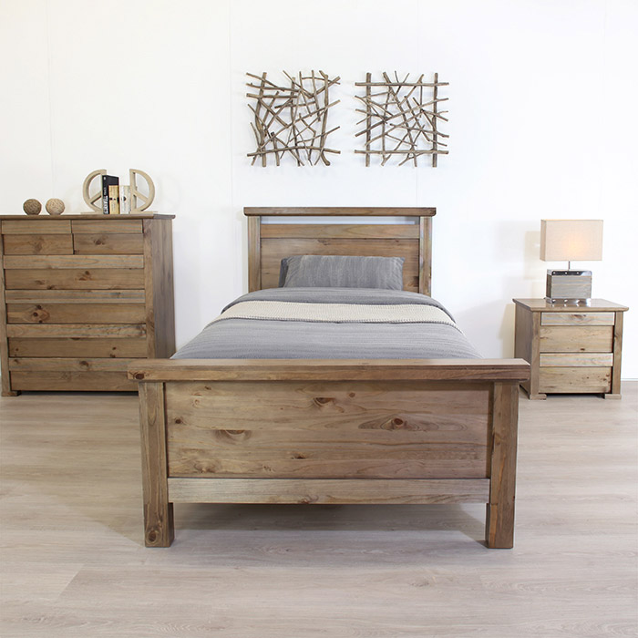 TORQUEY SINGLE BED FRAME