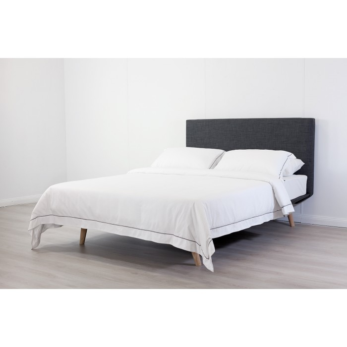 OSLO CHARCOAL KING BED FRAME