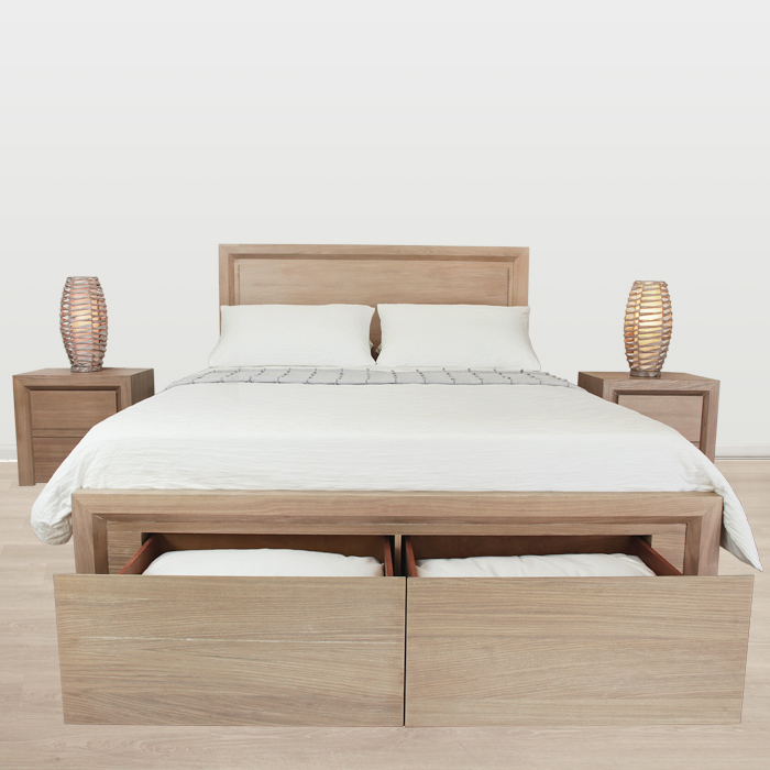 ATLAS QUEEN BED FRAME