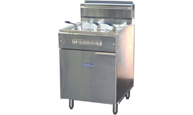Goldstein FRG-24 Gas Flat Bottom Fryer