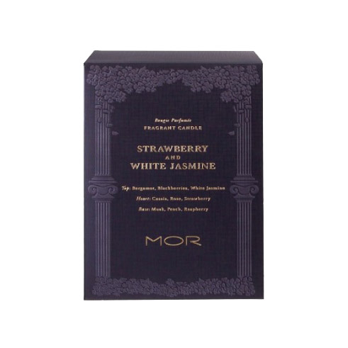 STRAWBERRY & WHITE JASMIN CANDLE 380G
